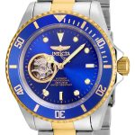 Invicta Pro Diver Men's Automatic Stainless Steel, Gold Case, Blue Dial – 21719