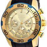 Invicta Pro Diver SCUBA Men's Quartz Gold Case, Gold Dial – 22345