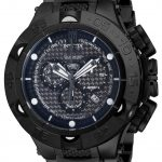 Invicta Jason Taylor Quartz Watch – Black case with Black tone Stainless Steel band – Model 14311