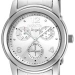 Invicta Angel Women's Quartz Stainless Steel Case, Silver Dial – 19022