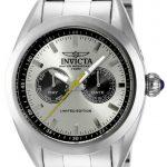 Invicta Speedway Swiss Movement Quartz Watch – Stainless Steel case Stainless Steel band – Model 14709