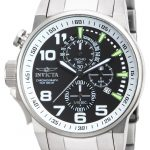 Invicta I-Force Quartz Watch – Stainless Steel case Stainless Steel band – Model 14955