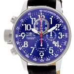 Invicta I-Force Quartz Watch – Stainless Steel case with Black tone Rifle band – Model 1513