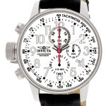 Invicta I-Force Quartz Watch – Stainless Steel case with Black tone Rifle band – Model 1514