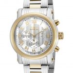 Invicta Specialty Quartz Watch – Gold, Stainless Steel case with Steel, Gold tone Stainless Steel band – Model 15213
