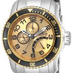Invicta Pro Diver Quartz Watch – Stainless Steel case Stainless Steel band – Model 15337