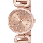 Invicta Angel Quartz Watch – Rose Gold case with Rose Gold tone Stainless Steel band – Model 16227