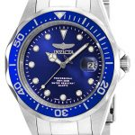 Invicta Pro Diver Quartz Watch – Stainless Steel case Stainless Steel band – Model 17048