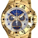 Invicta Excursion Quartz Watch – Gold case with Gold tone Stainless Steel band – Model 17471