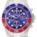 Invicta Pro Diver Quartz Watch – Stainless Steel case Stainless Steel band – Model 1771