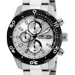Invicta Specialty Quartz Watch – Black, Stainless Steel case Stainless Steel band – Model 17749