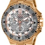 Invicta Jason Taylor Quartz Watch – Rose Gold, Titanium case with Rose Gold tone Stainless Steel band – Model 17847