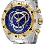 Invicta Excursion Quartz Watch – Gold, Stainless Steel case Stainless Steel band – Model 1878