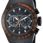 Invicta Speedway Quartz Watch – Black case with Black tone Stainless Steel band – Model 19295