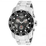 Invicta Pro Diver Quartz Watch – Stainless Steel case Stainless Steel band – Model 19836