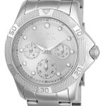 Invicta Angel Women's Quartz Stainless Steel Case, Silver, White Dial – 21764