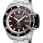Invicta Pro Diver Men's Automatic Stainless Steel Case, Black Dial – 21785