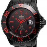 Invicta Pro Diver Mens Automatic 47mm Black Case Black Dial – Model 21870
