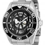 Invicta Pro Diver Men's Automatic 43mm Stainless Steel Case Black Dial – Model 22041