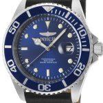 Invicta Pro Diver Men's Quartz Stainless Steel Case, Blue Dial – 22068