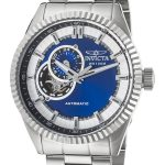Invicta Pro Diver Men's Automatic Stainless Steel Case, Blue Dial – 22079