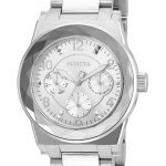 Invicta Angel Womens Quartz 38mm Stainless Steel Case Silver Dial – Model 22107