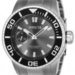 Invicta Pro Diver Men's Mechanical 52mm Stainless Steel Case Charcoal Dial – Model 22480