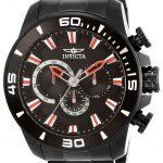 Invicta Pro Diver Mens Quartz 48.5mm Black Case Black Dial – Model 22593