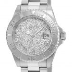 Invicta Angel Womens Quartz 40mm Stainless Steel Case Silver Dial – Model 22706