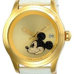 Invicta Disney Limited Edition Mickey Mouse Women's Automatic 38mm Stainless Steel Case Gold Dial – Model 22726