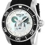 Invicta Disney Limited Edition Mickey Mouse Men's Automatic Stainless Steel Case, White, Black Dial – 22748