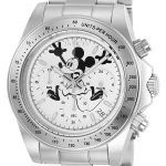 Invicta Disney Limited Edition Mickey Mouse Men's Quartz Stainless Steel Case, White Dial – 22863