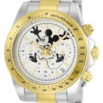 Invicta Disney Limited Edition Mickey Mouse Men's Quartz Stainless Steel, Gold Case, White Dial – 22865