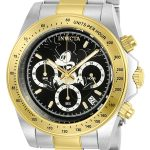 Invicta Disney Limited Edition Mickey Mouse Men's Quartz Stainless Steel, Gold Case, Black Dial – 22866