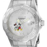 Invicta Disney Limited Edition Mickey Mouse Women's Quartz 38mm Stainless Steel Case Silver Dial – Model 22867
