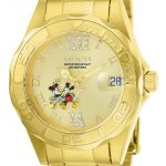 Invicta Disney Limited Edition Mickey Mouse Women's Quartz 38mm Gold Case Gold Dial – Model 22868