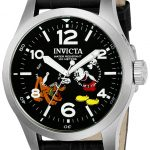 Invicta Disney Limited Edition Mickey Mouse Mens Quartz 48mm Stainless Steel Case Black Dial – Model 22873