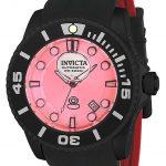 Invicta Pro Diver Liquid Dial Mens Automatic 47mm Black Case Silver, Red Dial – Model 22995