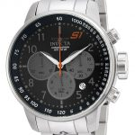 Invicta S1 Rally Mens Quartz 48mm Stainless Steel Case Black Dial – Model 23084