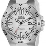 Invicta Pro Diver Mens Automatic 52mm Stainless Steel Case White Dial – Model 23485