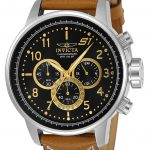 Invicta S1 Rally Mens Quartz 48mm Stainless Steel Case Black Dial – Model 23597