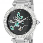 Invicta Disney Limited Edition Mickey Mouse Women's Quartz 38mm Stainless Steel Case Black Dial – Model 23780