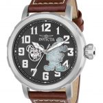 Invicta Disney Limited Edition Mickey Mouse Men's Automatic 50mm Stainless Steel Case Black Dial – Model 23794