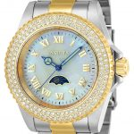 Invicta Sea Base Women's Quartz 40mm Stainless Steel, Gold Case White Dial – Model 23831
