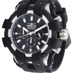 Invicta Bolt Sport Mens Quartz 48mm Stainless Steel Case Black Dial – Model 23855