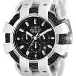 Invicta Bolt Sport Mens Quartz 48mm Stainless Steel Case Black Dial – Model 23856