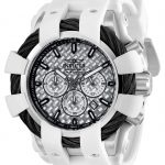 Invicta Bolt Sport Mens Quartz 48mm Stainless Steel Case Silver Dial – Model 23857