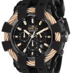 Invicta Bolt Sport Mens Quartz 48mm Black Case Black Dial – Model 23867