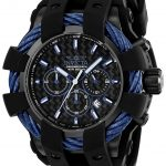 Invicta Bolt Sport Mens Quartz 48mm Black Case Black Dial – Model 23868