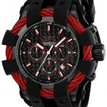 Invicta Bolt Sport Mens Quartz 48mm Black Case Black Dial – Model 23869